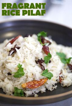 Transform leftover rice into a delicious, crave-worthy side by cooking with some fragrant spices.