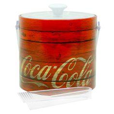 Balde de Gelo Coca Cola Vermelho | Boutique de Luxo @ BoutiqueDeLuxo