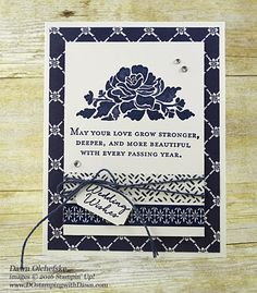 Floral Phrases & Floral Boutique DSP card created by Dawn Olchefske for DOstamperSTARS Thursday Challenge #DSC183 #dostamping #stampinup