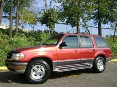 This 1997 Ford Explorer XLT is fully loaded and is my garage sales go to vehicle.  Holds anything and everything and drives like a dream.  Took a trip to NYU in this baby for my baby girl.