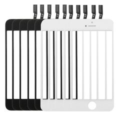[$31.82] 5 PCS Black + 5 PCS White iPartsBuy for iPhone 5C & 5S Touch Screen Flex Cable