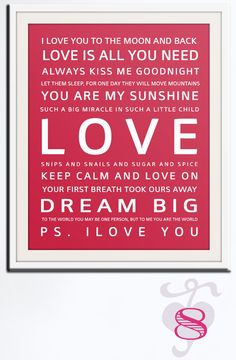 Romantic Phrases & Sign For Valentine's Day:)