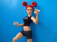 Barbie And Ken, Barbie Dolls, Becky Lynch, Women's Wrestling, Barbie Collector, Wwe Superstars, Sport, Woman, Projects