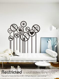 Restricted - Wall Sticker | Vinylize Wall Deco  http://www.vinylize.gr/product/restricted