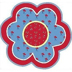 Fun Rugs childrens rugs - Fun Shapes High Pile Bandana Flower Kids Rug - Round - - Plain and Simple Deals - no frills, just deals Banana Flower, High Pile Rug, Round Area Rugs, Traditional Rugs, Cool Rugs, Contemporary Rugs, Accent Rugs, Throw Rugs