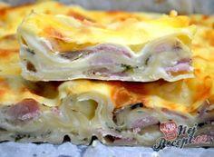 Lasagne s rajčaty, sýrem a šunkou Tortellini, Cabbage, Food Porn, Pasta, Vegetables, Ethnic Recipes, Health, Foods, Lasagne