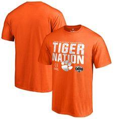 Clemson Tigers Fanatics Branded College Football Playoff 2016 Fiesta Bowl Bound Nation T-Shirt - Orange - $17.99