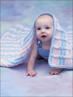 Crocheted Crib Cover