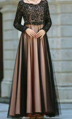Dress Brokat Muslim, Dress Brokat Modern, Dress Pesta, Model Kebaya Brokat Modern, Mode Abaya, Mode Hijab, Dress Muslim Modern, Stylish Dresses, Fashion Dresses