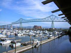 Astoria Bridge from Oregon to Washington over the Columbia River