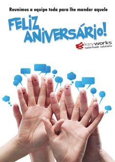Ação de Endomarketing - Cartão de aniversário