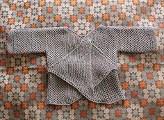 reversible baby sweater
