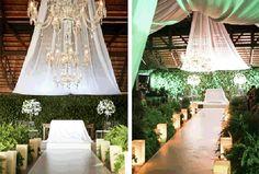 Decoração de casamento com samambaias A decoração do seu casamento é um dos itens mais importantes, pois é através dela que você vai transmitir aos seus convidados a energia que você deseja, vai demonstrar características dos noivos, e é ela...