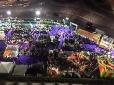 View of christmas fest at DWTC, Dubai