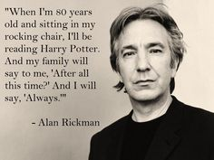 Alan Rickman on Harry Potter