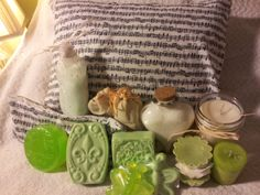 Aromatherapy Home Spa Kit for the musician or by cottageoakland617, $59.00
