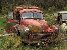 Morris minor panel van, Only, I think it might be to late!!!.  v@e.
