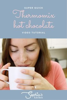 need I say more? SUCH an epic drink and SOOOO convenient to make it in the Thermomix. Enjoy guys x L I N K S Get my vanilla bean paste reci. Chocolate Videos, Hot Chocolate, Paste Recipe, Frozen Cocktails, Say More, Vietnamese Recipes, Sweet Recipes, Guys, Drinks