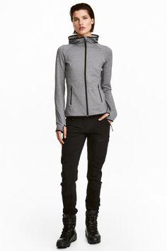 Nohavice do prírody - čierna - ŽENY | H&M SK 1