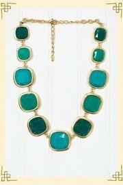 Stone age turquoise necklace