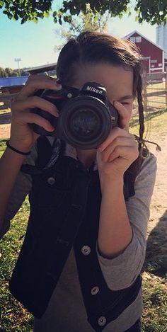 Annie the photographer