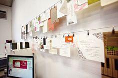 for the letterpress studio...