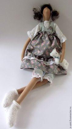 Куклы Тильды ручной работы. Ярмарка Мастеров - ручная работа Адель.  Интерьерная кукла в стиле Тильда. Handmade.