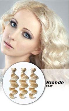 Blonde 613# Human Hair