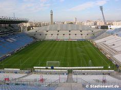 Stade Vélodrome (42'957)bezocht tijdens vakantie