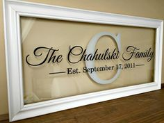 Personalized th th th th anniversary gift wedding