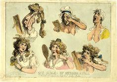 The Art of Deception: Georgian Cosmetics (caricature: Mending a Face)