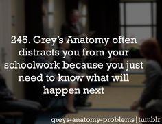 Grey's Anatomy Problems.. So true !!