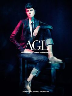 Stella Tennant for AGL FW 13.14 Campaign by Paolo Roversi 1