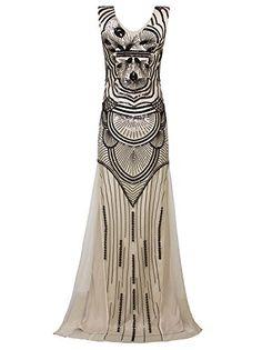 7cc7c16529 Vijiv Long Maxi Prom Gowns Sequin Mermaid Bridesmaid Formal Evening Dress  About Vijiv Flapper Dress and Vijiv Flapper Headdress   Jewerly Vijiv