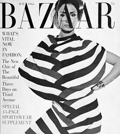 Nati Abascal. Harpers Bazaar, may 1965