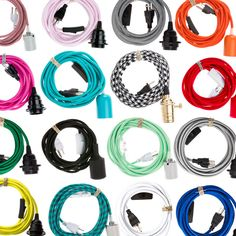 The best selection of pendant light cord sets on the internet. We specialize in plug-in cord sets and diy pendant light supplies.