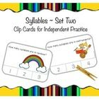Clip cards are great for independent practice in centers or small groups. Included answers adhered to back of cards (or stickers of your choosing) ...