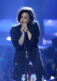 Demi Lovato at #WeDay California - April 7th