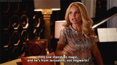 """And she kind of carried """"GCB."""" 