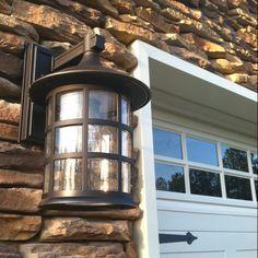 outdoor garage lights - Google Search