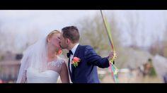 Trouwfilm van Rudi & Sandra Metz. Bekijk deze toffe bruiloft. Ook een mooie trouwclip van jouw dag (same-day-edit)? Ga naar www.beeldkracht.nl/trouwfilms