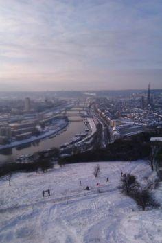 Rouen, colline Sainte Catherine