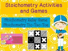 Want your students to have fun while learning about stoichometry