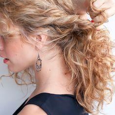Twisted bun hair tutorial - Style Studio