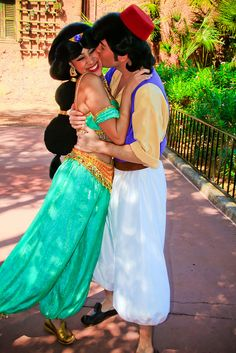 Jasmine and Aladdin by abelle2, via Flickr
