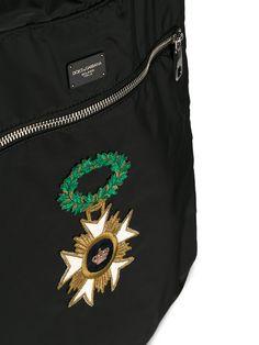 Dolce & Gabbana рюкзак с нашивками