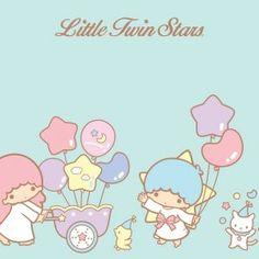 Little Twin Stars Wallpaper 2015 好康桌布 美國官方 C 款