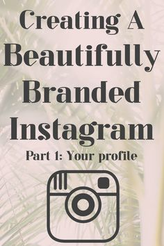 Creating a Beautifully Branded Instagram. If you're a creative entrepreneur, artist, maker, or blogger who wants to build a large following on Instagram, click here now, or save and read this later!