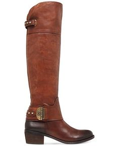 Vince Camuto Beatrix Over The Knee Riding Boots - Boots - Shoes - Macy's