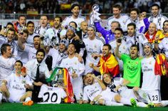 Real Madrid are the new Copa del Rey champions! Los Blancos had not lifted a trophy since beat Barcelona to clinch the 2012 Supercopa de Espana. It took a couple of goals to gun down the Catalans on April 16, 2014 for Real Madrid to end their trophy drought #HalaMadrid